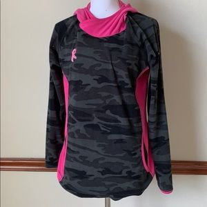 Columbia fleece cancer pink ribbon hooded fleece